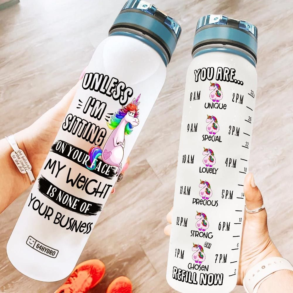 Unicorn KD2 HNH1208005 Water Tracker Bottle