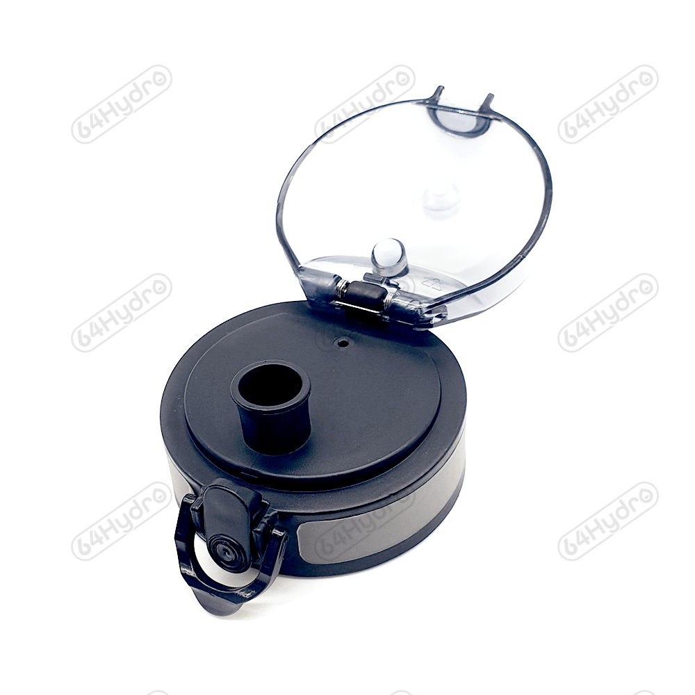 Black Replacement Lid for Water Tracker Bottle