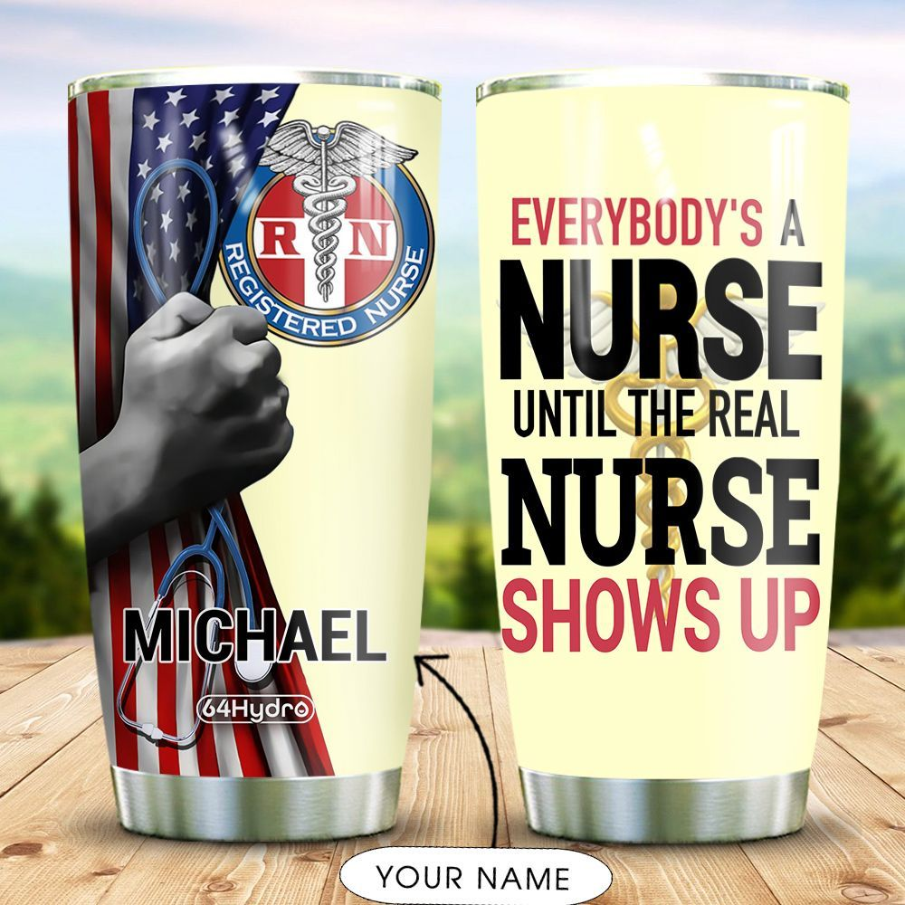 Nurse Personalized MDA2309007 Stainless Steel Tumbler