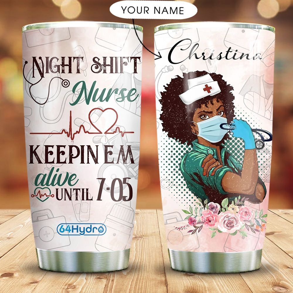BW Nurse Personalized MDA2109004 Stainless Steel Tumbler
