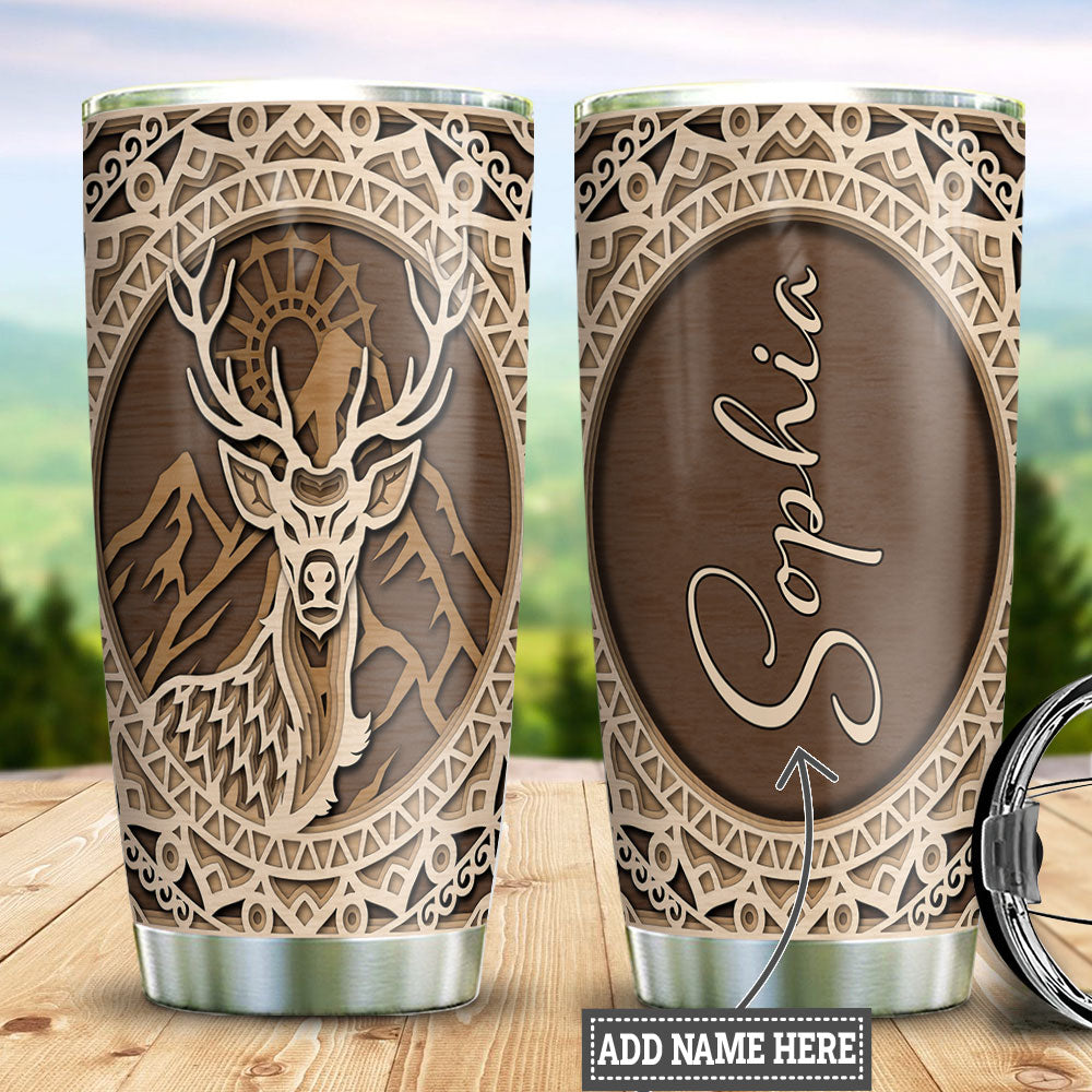 Deer Hunting Personalized TTR0211017 Stainless Steel Tumbler