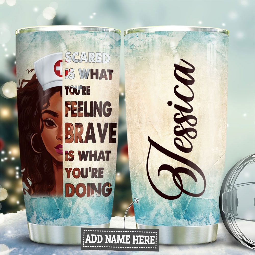Nurse Brave Personalized TAS1111004 Stainless Steel Tumbler