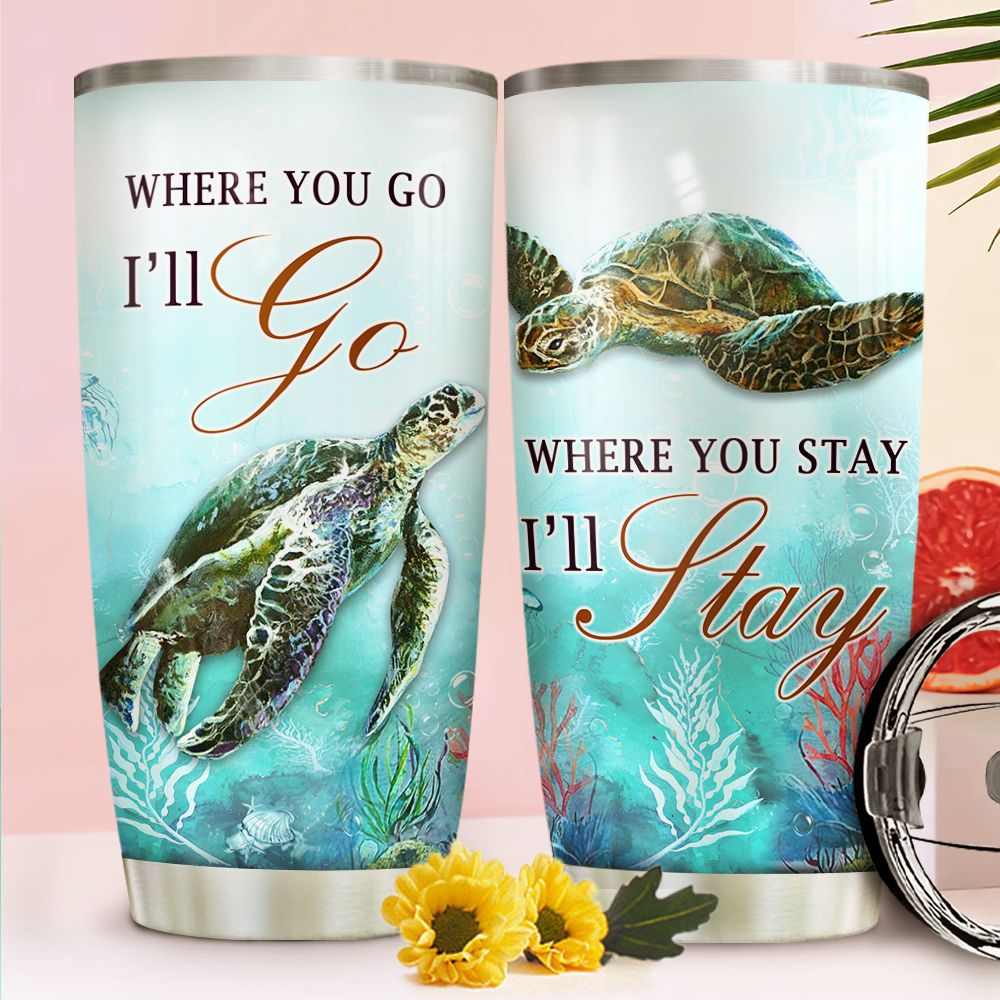 Turtle Couple NNR1811024 Stainless Steel Tumbler