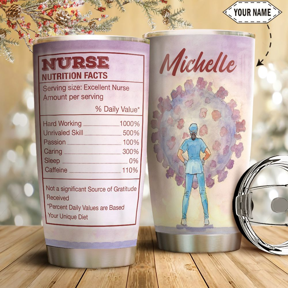 Nurse Personalized HTC2811008 Stainless Steel Tumbler