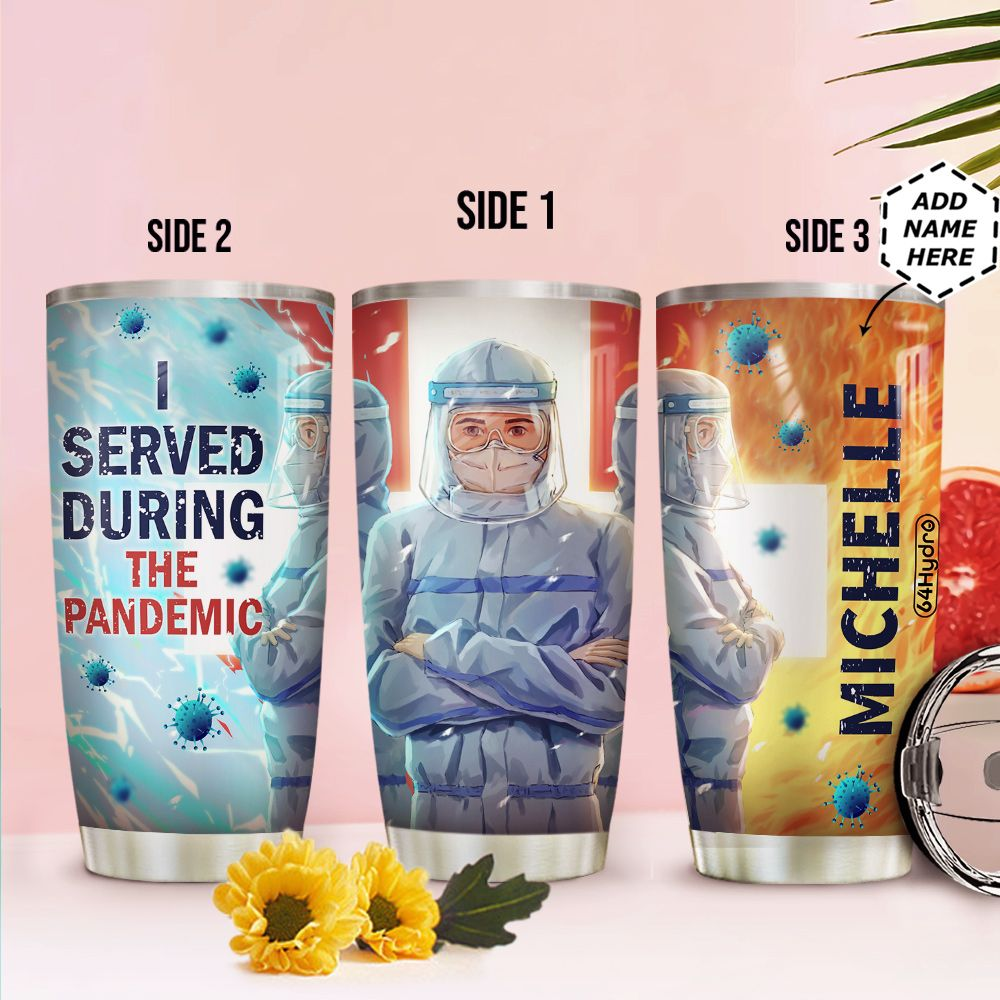Nurse Personalized HHC0212004 Stainless Steel Tumbler