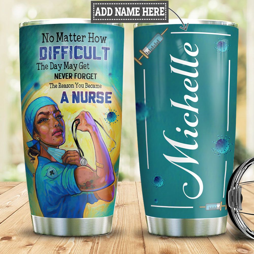 Nurse Personalized HHC0312006 Stainless Steel Tumbler