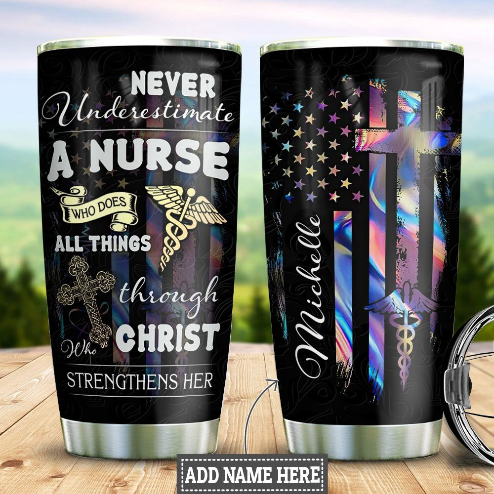 Nurse Personalized HHC0412007 Stainless Steel Tumbler