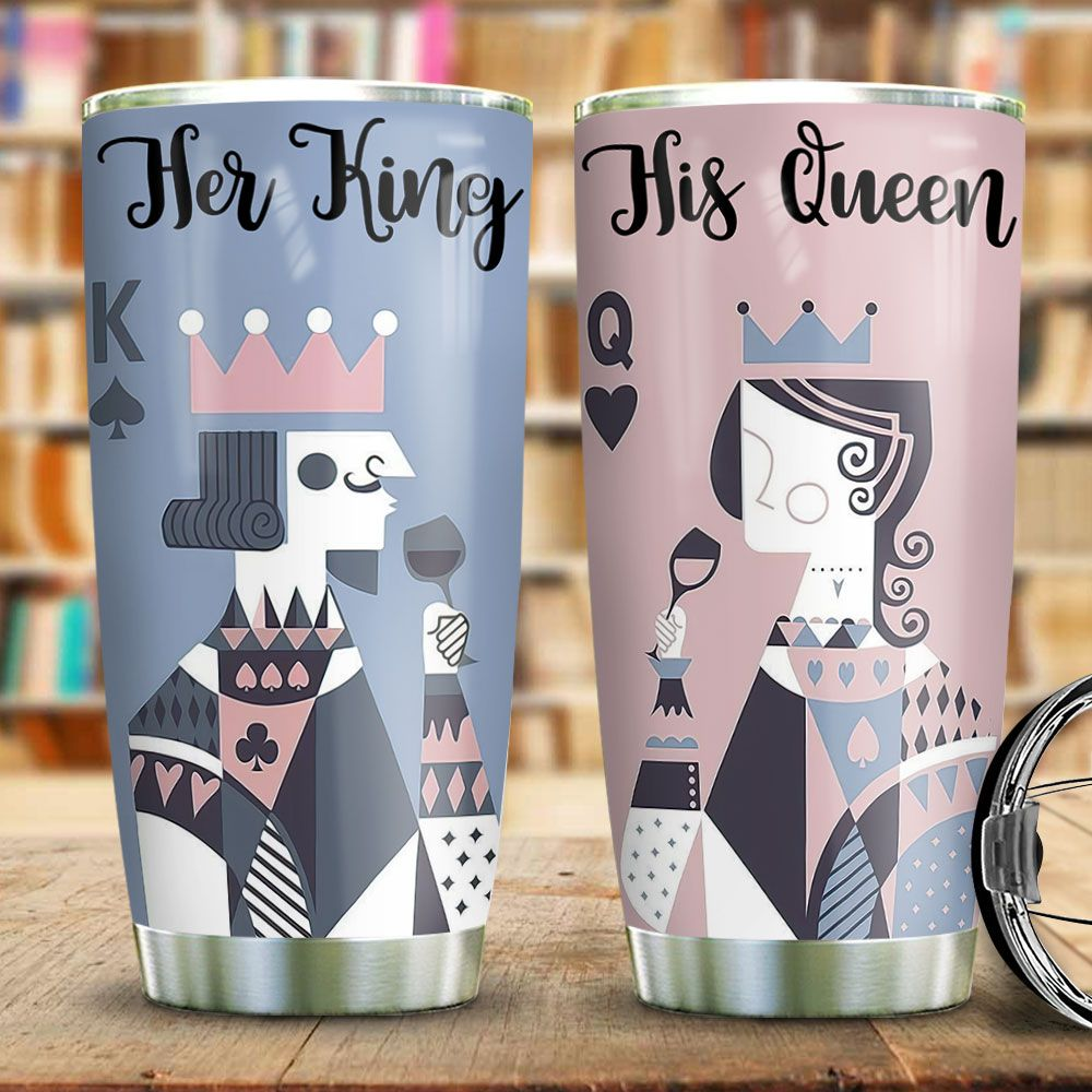 Couple Queen King TAS0912003 Stainless Steel Tumbler
