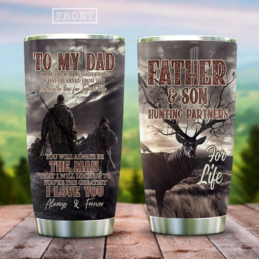 Hunting Father And Son HAB1512002 Stainless Steel Tumbler