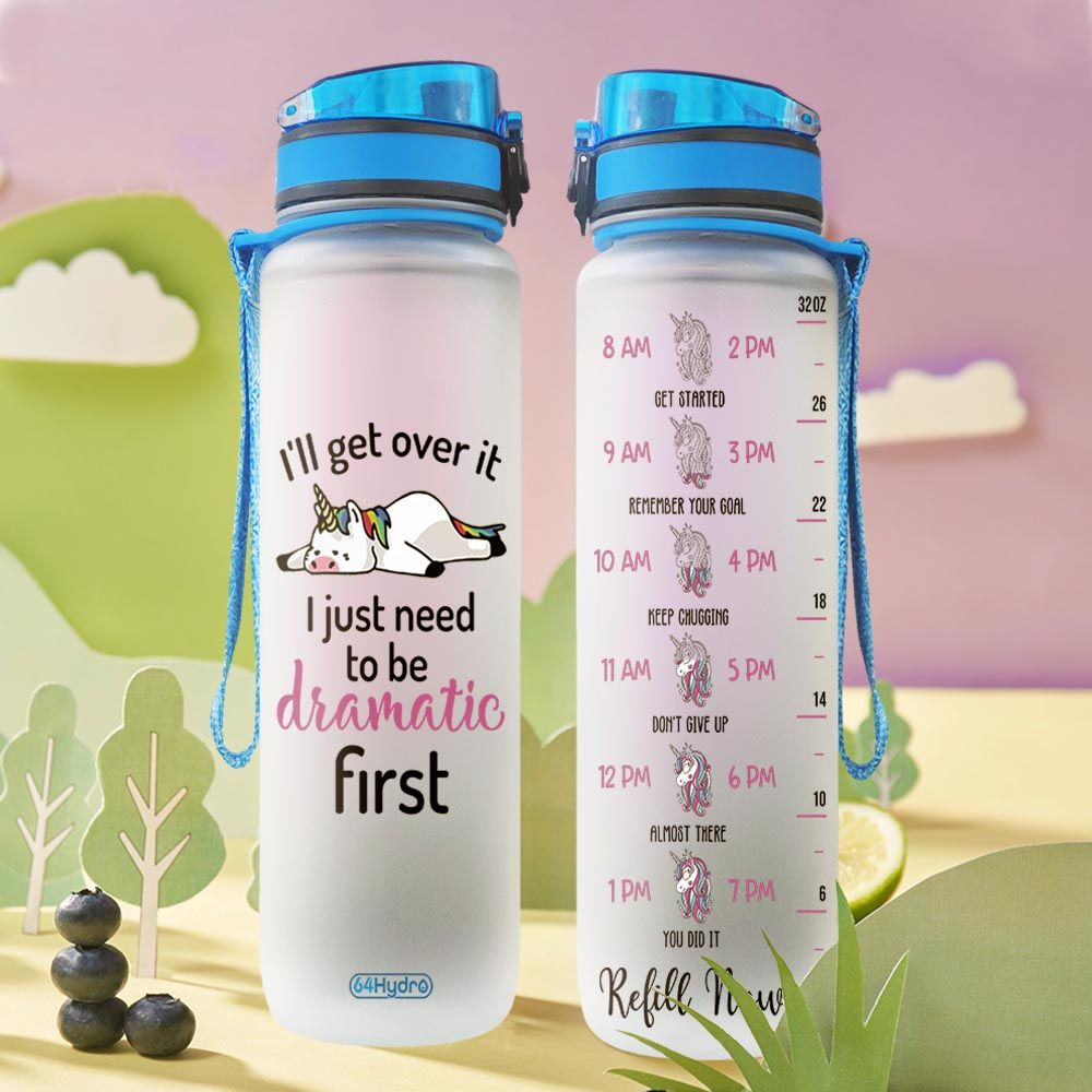 Unicorn THA1812016 Water Tracker Bottle