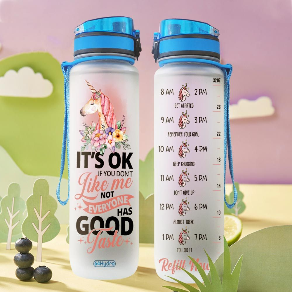 Unicorn THA1812017 Water Tracker Bottle
