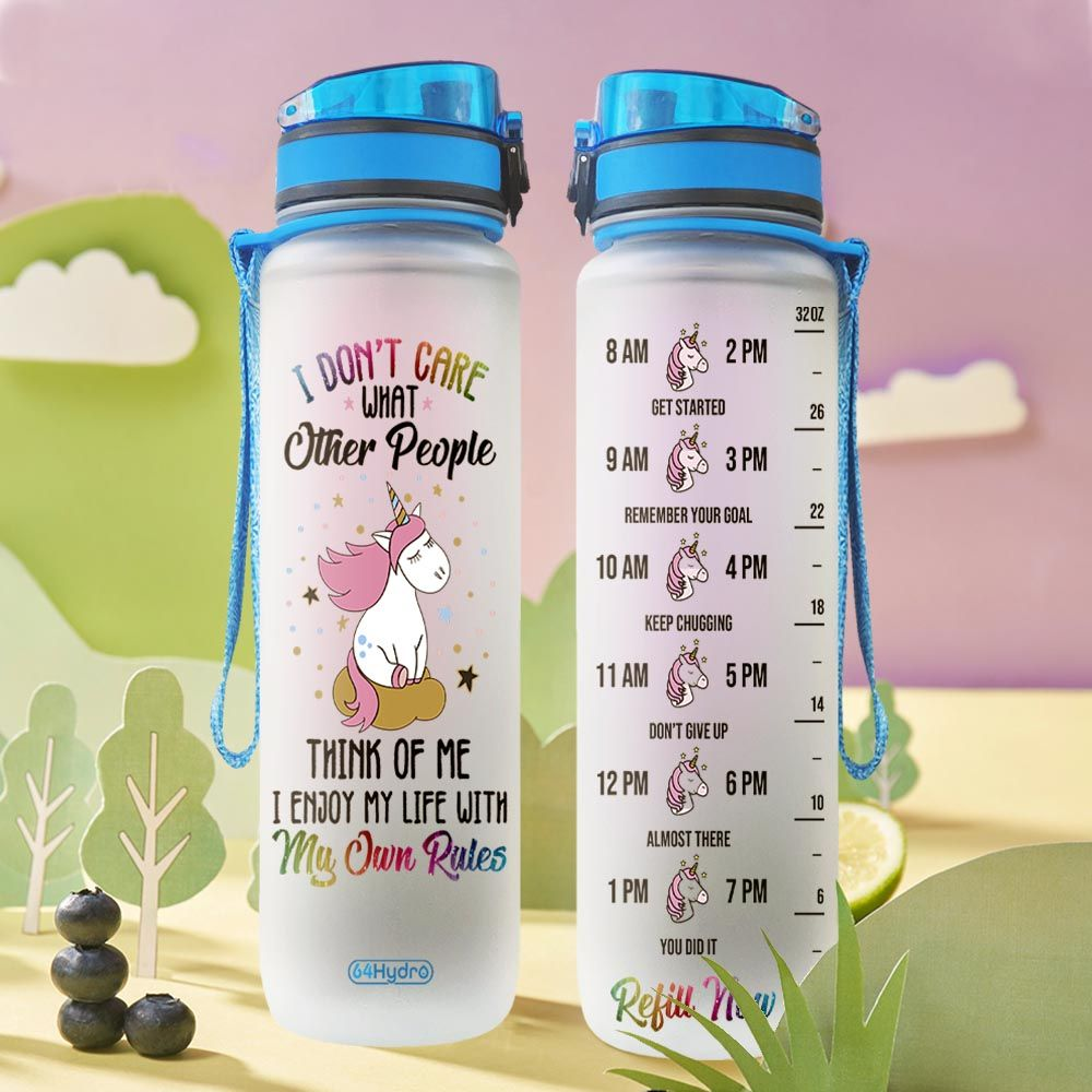 Unicorn THA2612017 Water Tracker Bottle