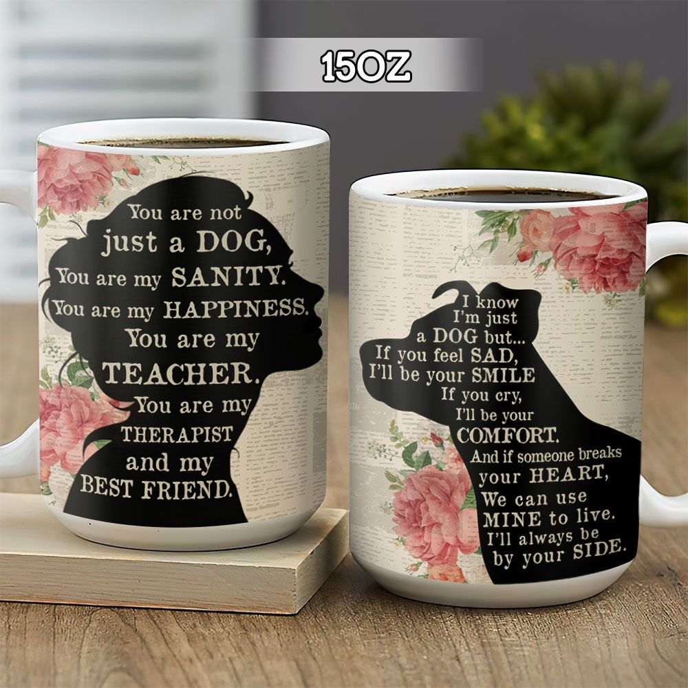 Dog Lover Girl BGZ1201001Z Full Color Ceramic Mug