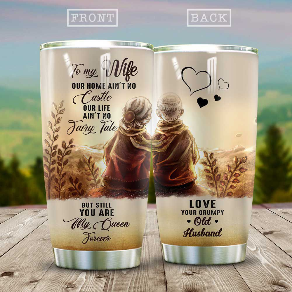 Old Couple My Wife KD2 HAL3011006 Stainless Steel Tumbler