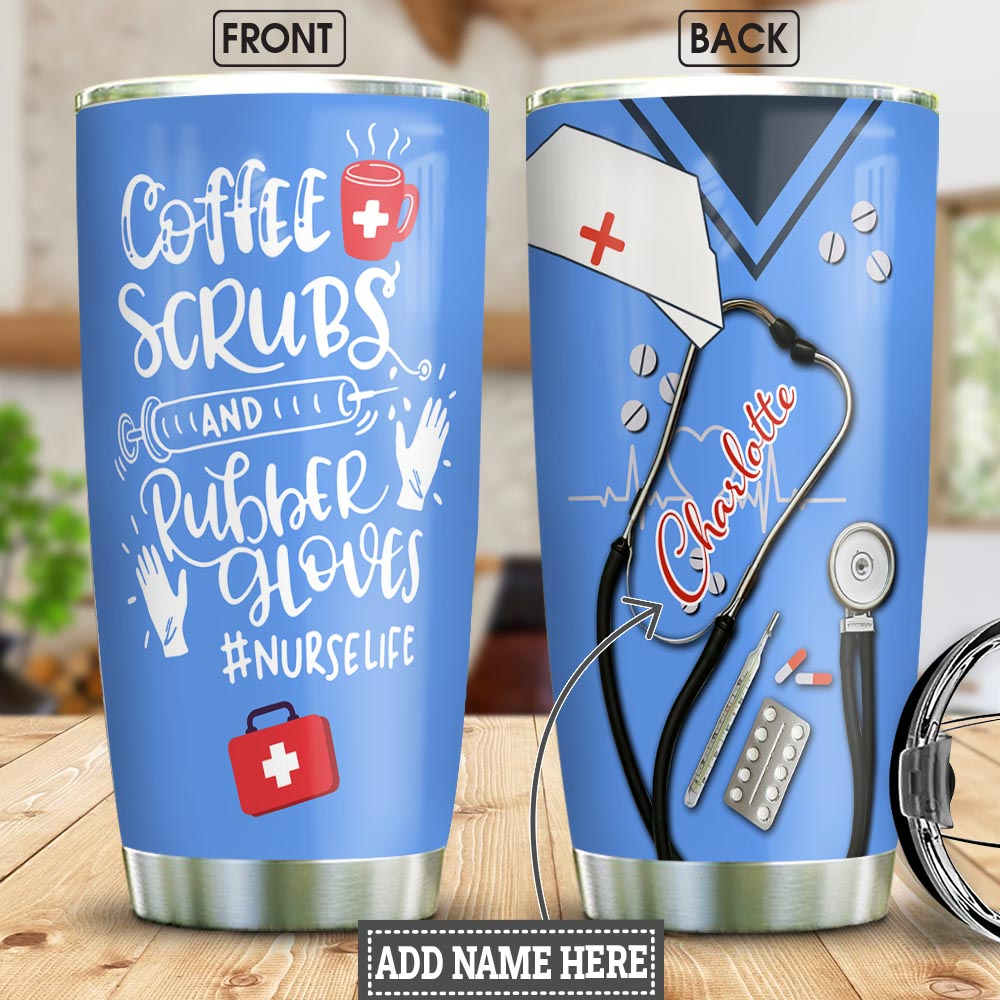 Nurse Uniform Personalized NNR2812006 Stainless Steel Tumbler