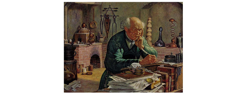 The Swiss Alchemist Paracelsus Working About The Gnome History