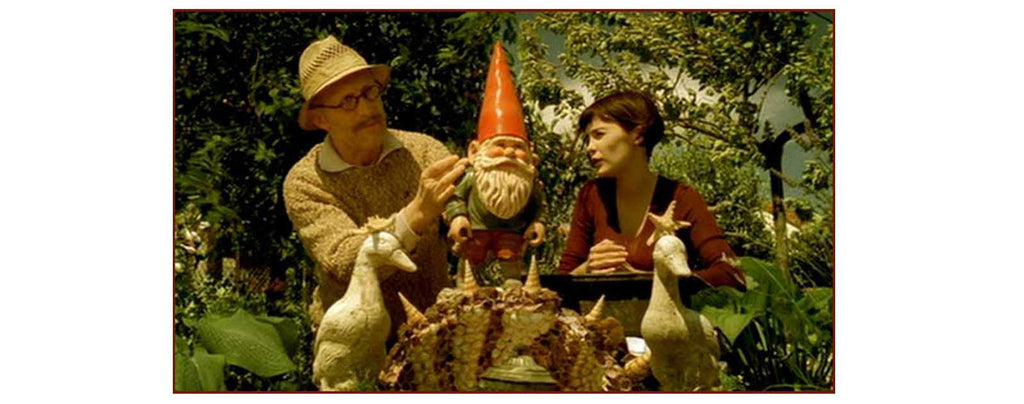 The Destiny Of Amélie Poulain With Her Grand-Daddy Working On A Garden Gnome