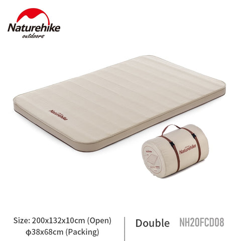 Naturehike 25cm Thickened Camping Mat 1-2 Persons Portable Pad Automatic Inflation Outdoor Sponge Mat Dampproof Tent Mattress Naturehike 25センチメートル肥厚キャンピングマット1-2人ポータブルパッド自動インフレ屋外スポンジマット防湿テントマットレス ネイチャーハイク