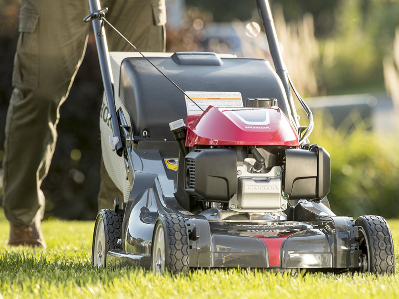 What are the different types of lawn mower?