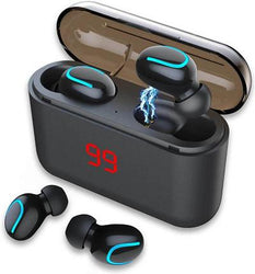 HBQ Q32 LED Stereo Mini Wireless Earbuds - WatchExtra