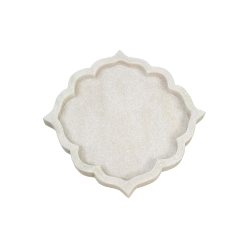 ARABESQUE MARBLE TRAY | SMALL