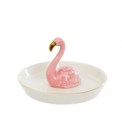 FLAMINGO JEWELRY PLATE
