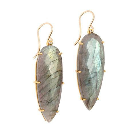 PRISM LABRADORITE EARRINGS