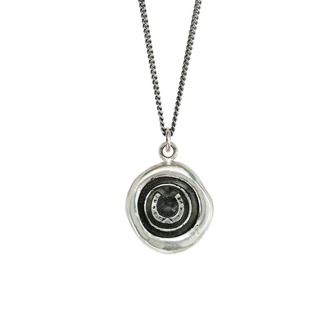 HORSESHOE - TALISMAN NECKLACE