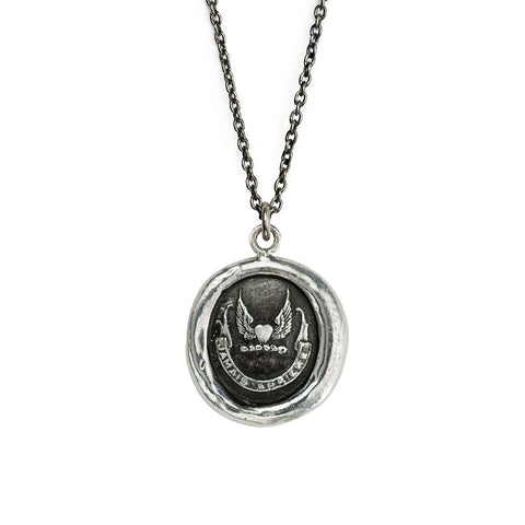 NEVER LOOK BACK - TALISMAN NECKLACE