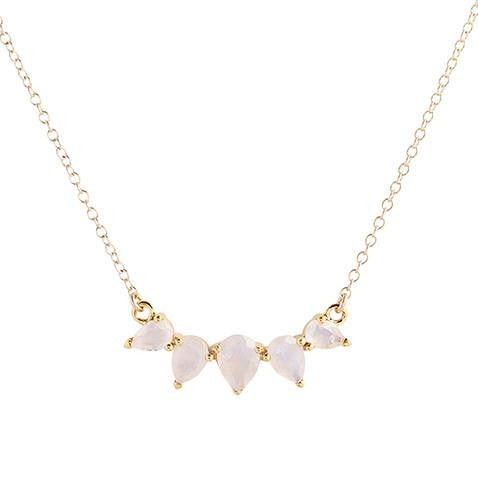 SUNNY MOONSTONE NECKLACE