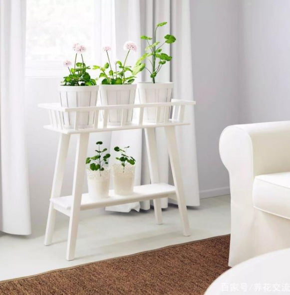 Table plant stand