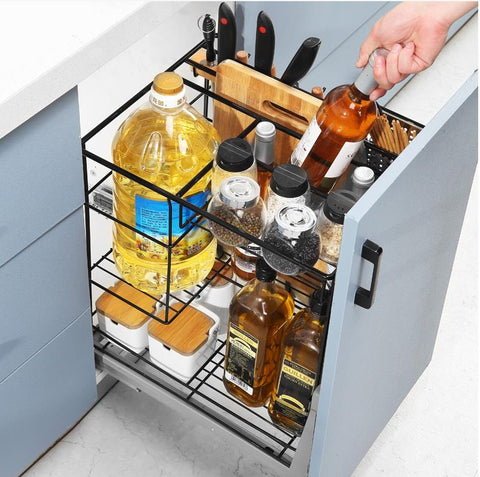 How About The Pull Out Spice Rack?