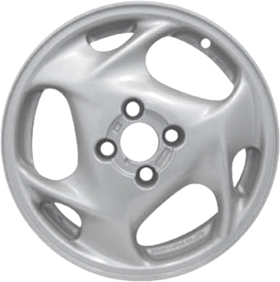 ALY71702 Acura Integra Wheel Silver Painted #08W15ST7280F