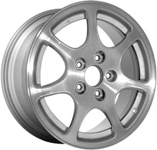 Load image into Gallery viewer, ALY71722 Acura RSX Wheel Silver Machined #08W16S6M200A