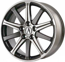 Load image into Gallery viewer, ALY71787 Acura TL Wheel Charcoal Machined #08W19TK4201B