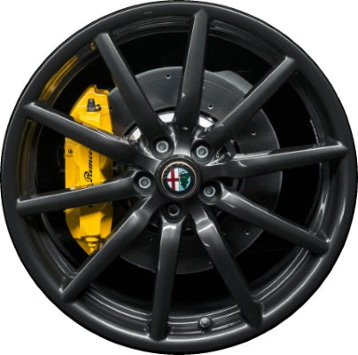 ALY58156U30 Alfa Romeo 4C Wheel Charcoal Painted #68267946AA
