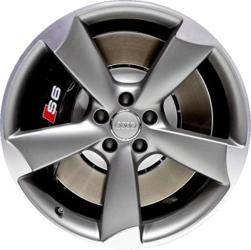 ALY58942 Audi A6, S6 Wheel Grey Machined #4G0601025BP