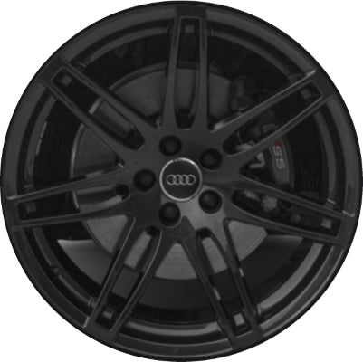 ALY58845U45/59017 Audi A5, S5 Wheel Black Painted #8T0601025DL