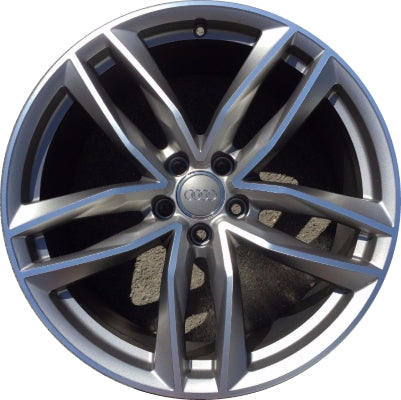 ALY58978U35 Audi A6, S6 Wheel Grey Machined #4G9601025M