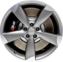 Load image into Gallery viewer, ALY58942 Audi A6, S6 Wheel Grey Machined #4G0601025BP
