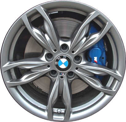 ALY86134U BMW 228i, 230i, M235i, M240i Wheel Grey Painted #36117845871