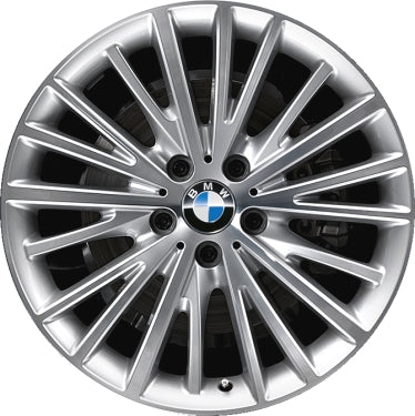 ALY86006 BMW 320i, 328i, 335i, 428i, 430i, 435i, 440i Rim Machined #36116856219