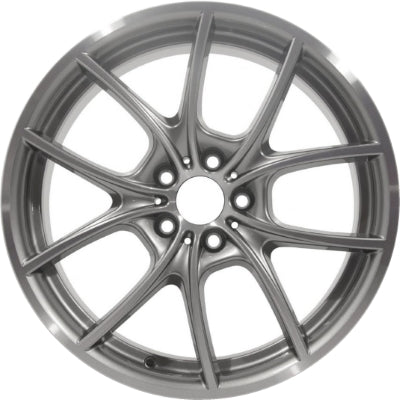 ALY71428U10.LC25 BMW Hybrid 5, 528i, 535i, 550i, 640i, 650i Rim Machined #36116792599
