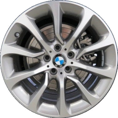 ALY86001 BMW Hybrid 5, 528i, 535i, 550i, 640i, 650i Rim Machined #36116857666