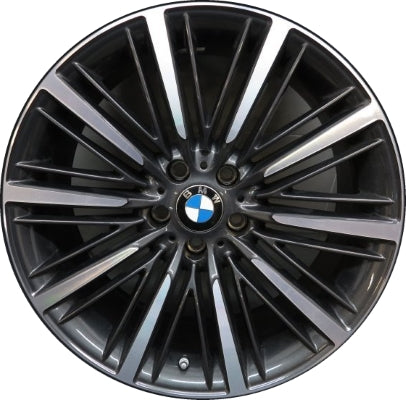 ALY86184 BMW 640i, 650i Wheel Charcoal Machined #36116862899