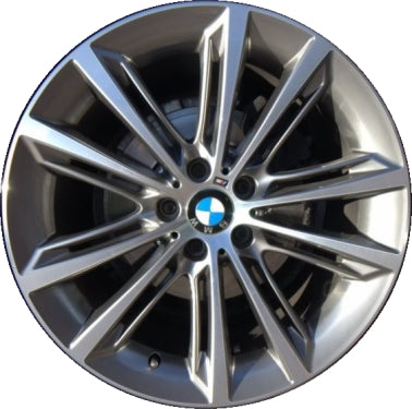 ALY71584U35 BMW Hybrid 5, 528i, 535i, 550i, 640i, 650i Rim Machined #36116854558