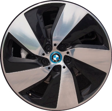 ALY86172/86173 BMW i3 Wheel Black Machined #36116856897
