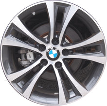 Load image into Gallery viewer, ALY86126 BMW 228i, 230i, M235i, M240i Wheel Charcoal Machined #361176796210
