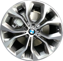 Load image into Gallery viewer, ALY86060 BMW X5, X6 Wheel Grey Machined #36116853960