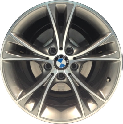 ALY86032 BMW Z4 Wheel Grey Machined #36116855529